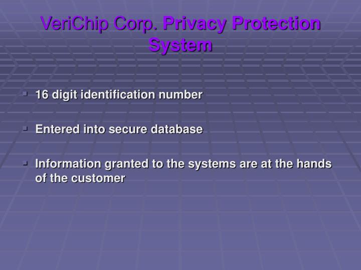 VeriChip Corp.
