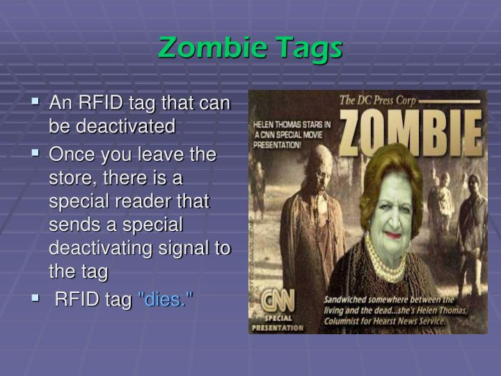 Zombie Tags