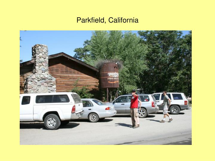 Parkfield, California