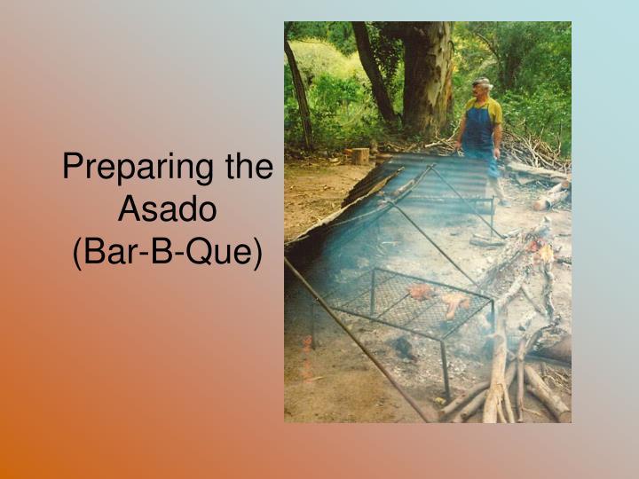 Preparing the