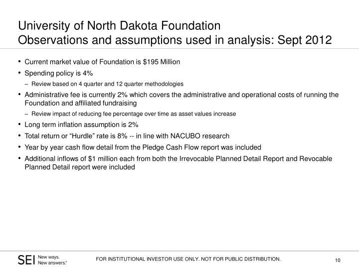 University of North Dakota Foundation