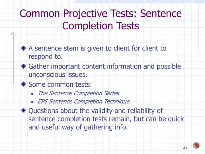 Sentence Completion Practice Test 1