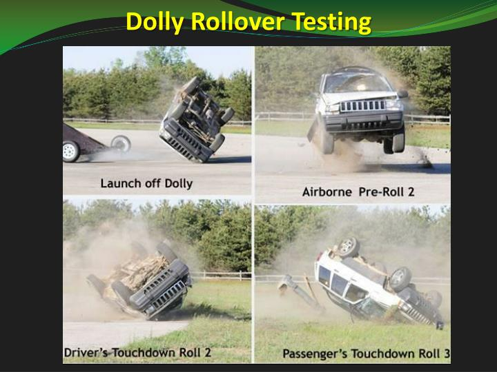 Dolly Rollover Testing