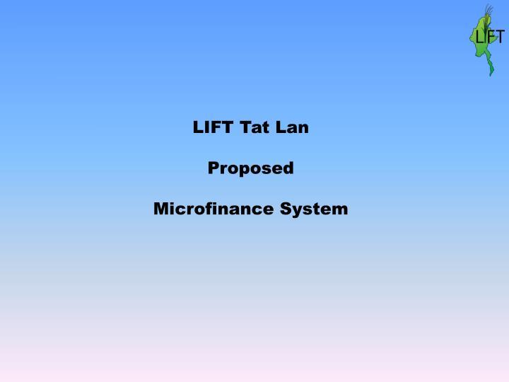 LIFT Tat Lan