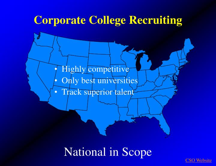 Corporate College Recruiting