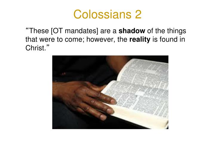 Colossians 2