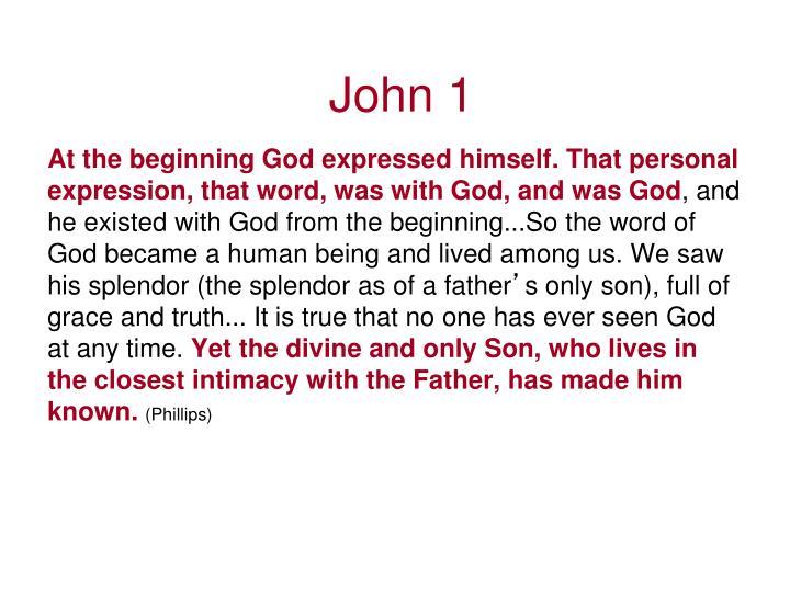 John 1