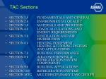 tac sections1