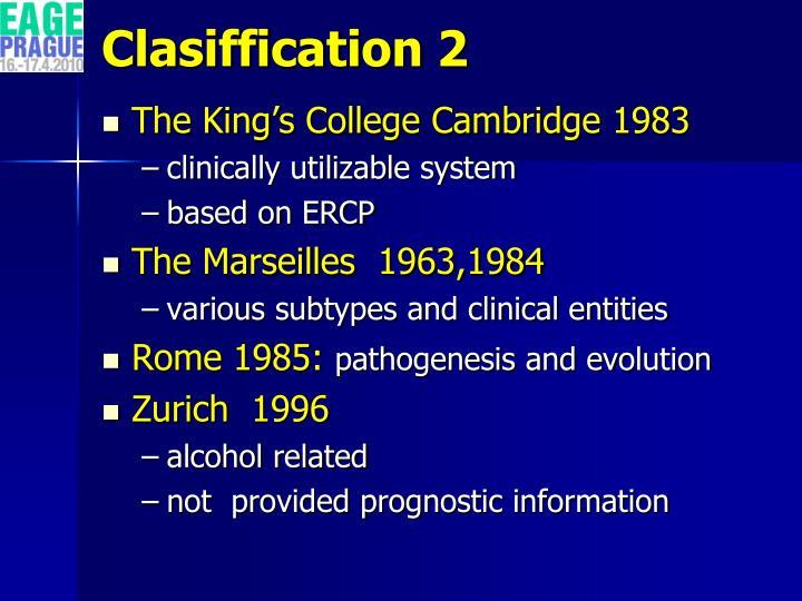 Clasiffication