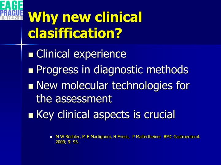 Why new clinical