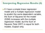 interpreting regression results 4