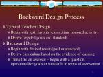 backward design process1