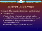backward design process6