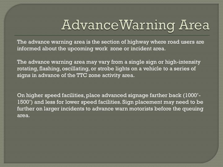 AdvanceWarning