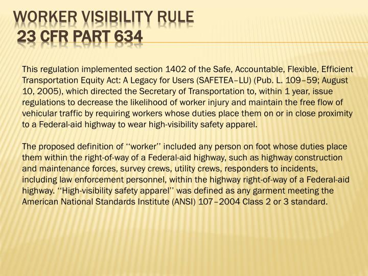 Worker Visibility Rule