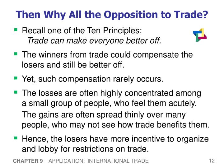 Then Why All the Opposition to Trade?