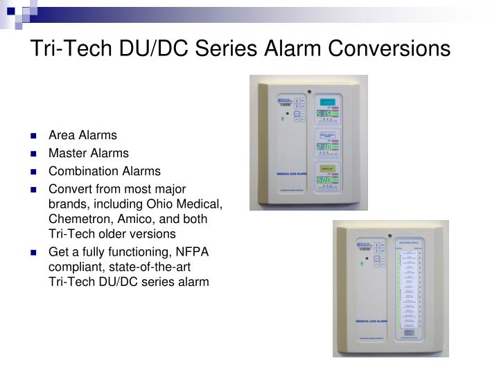 Tri-Tech DU/DC Series Alarm Conversions