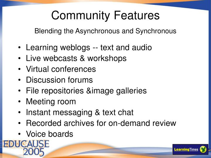 Community Features