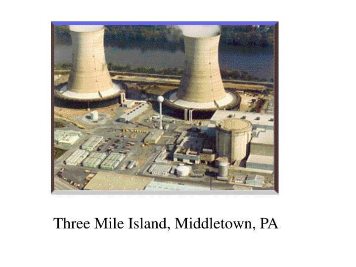 Three Mile Island, Middletown, PA