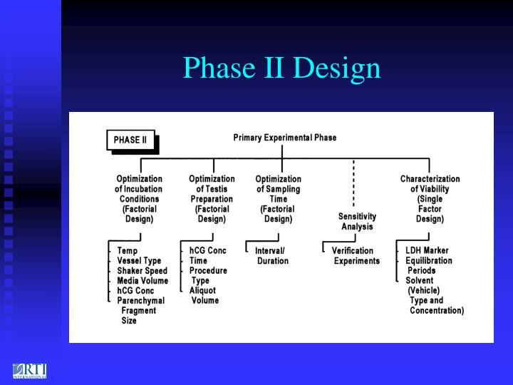 Phase II Design
