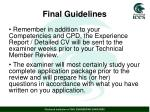 final guidelines1