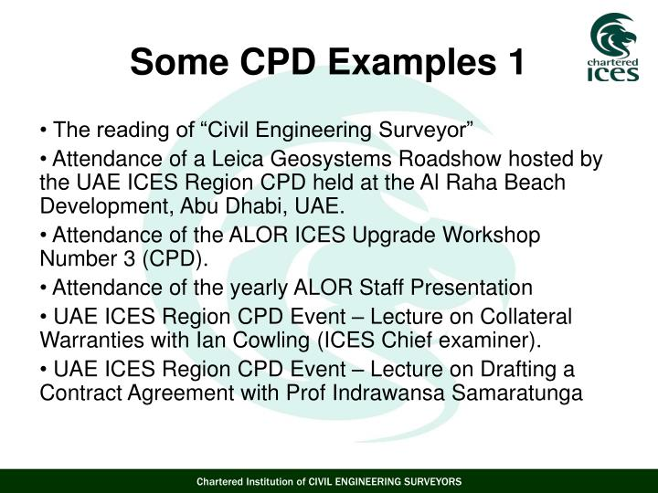 "The reading of ""Civil Engineering Surveyor"""