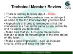 technical member review2