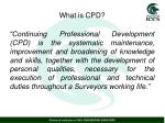 what is cpd1