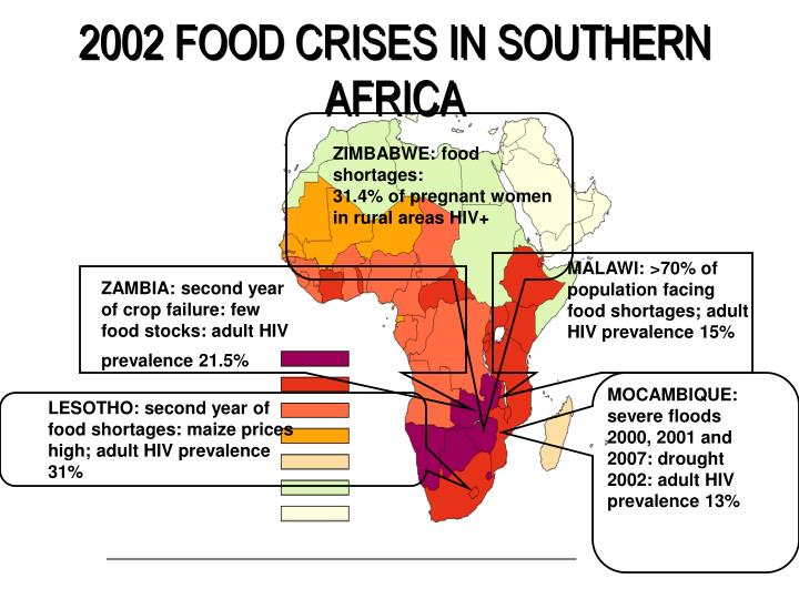 2002 FOOD CRISES IN SOUTHERN AFRICA