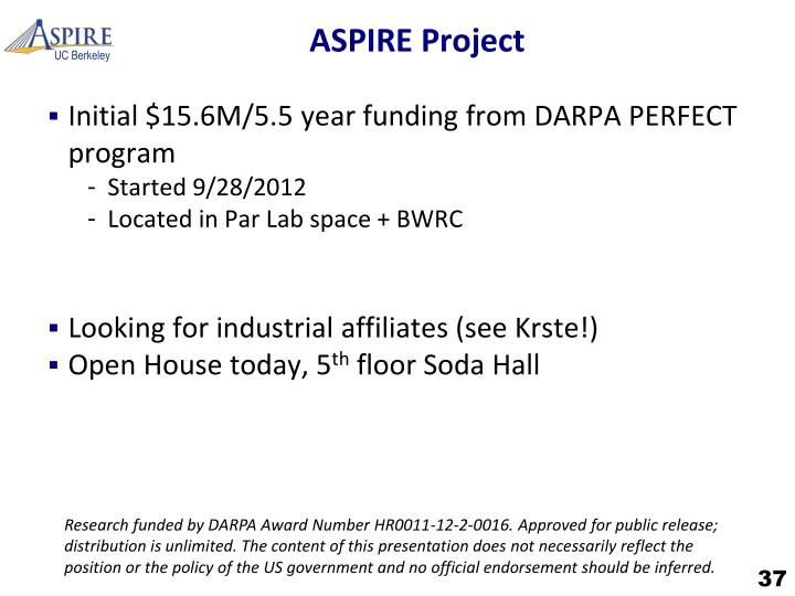 ASPIRE Project