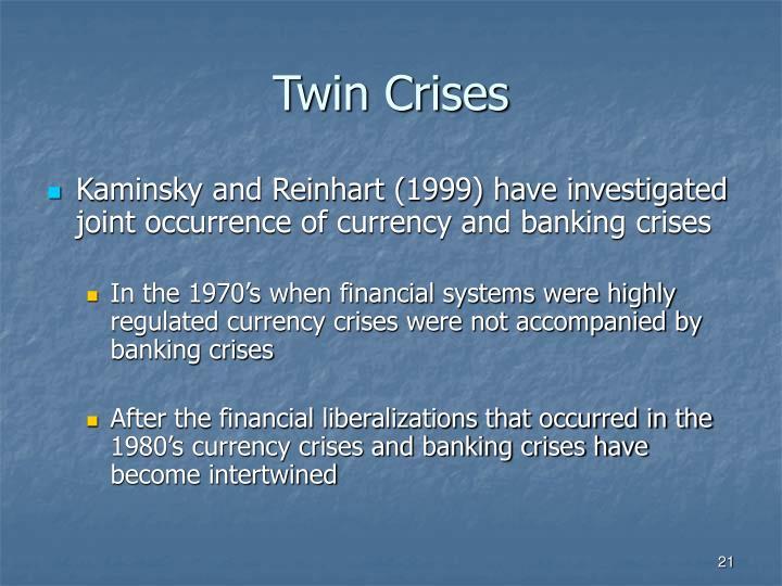 Twin Crises