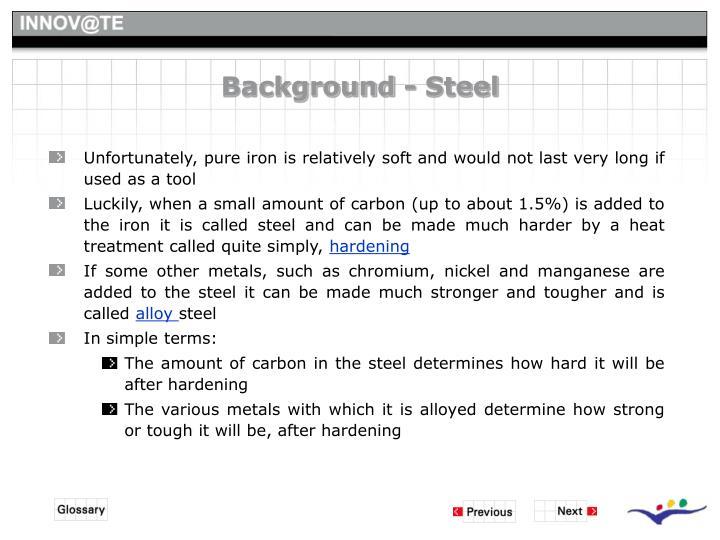 Background - Steel