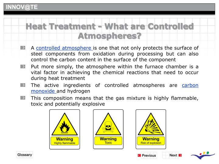 Heat Treatment - What are Controlled Atmospheres?