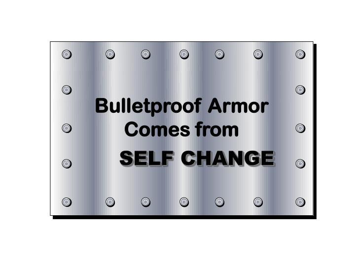 Bulletproof Armor