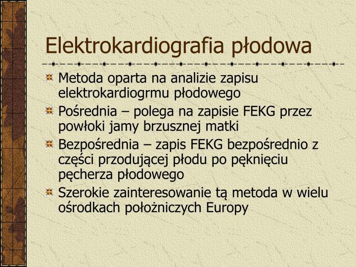 Elektrokardiografia płodowa