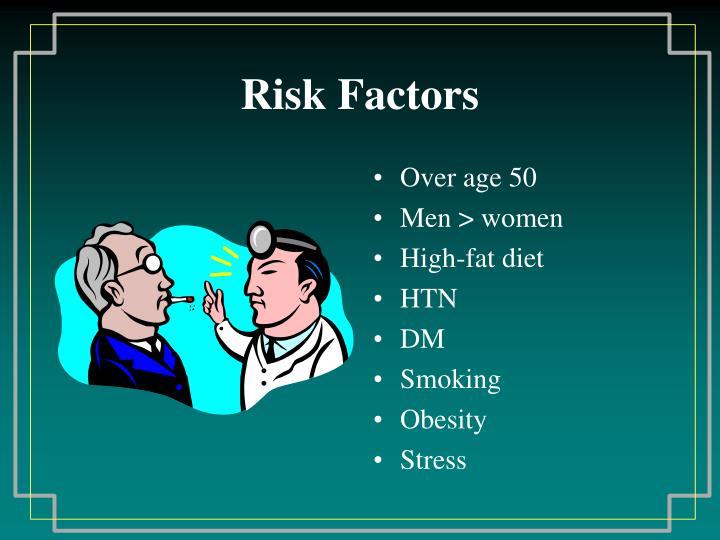 Risk Factors