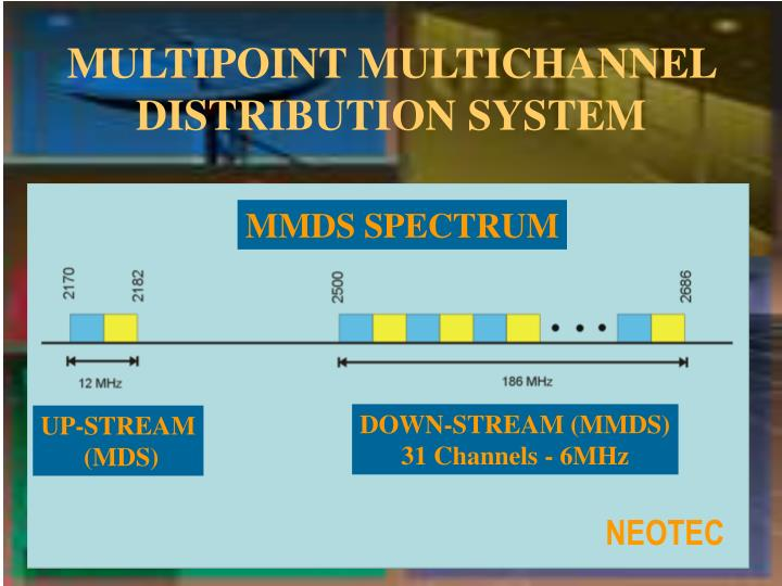 MULTIPOINT MULTICHANNEL DISTRIBUTION SYSTEM