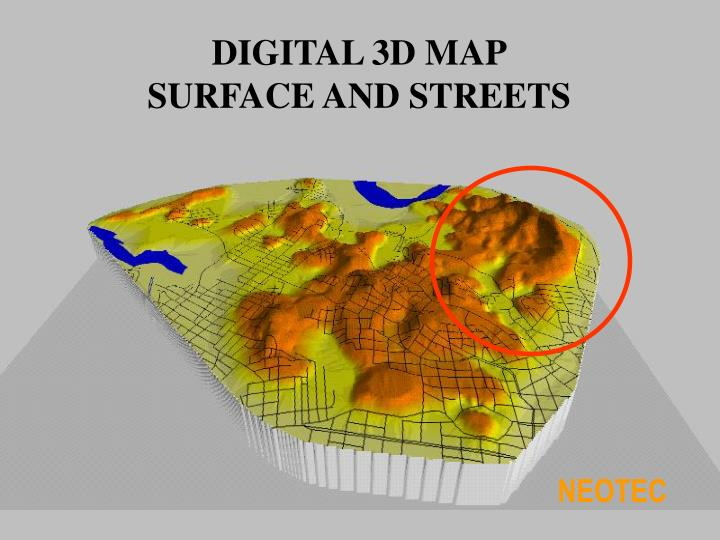 DIGITAL 3D MAP