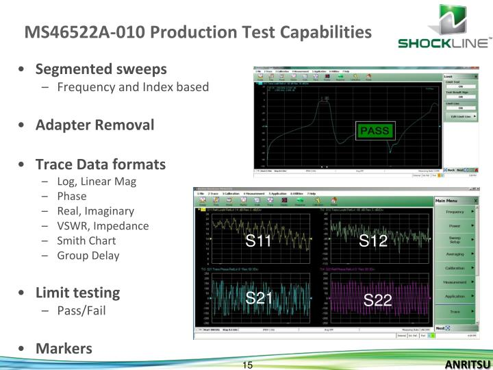 MS46522A-010 Production Test Capabilities