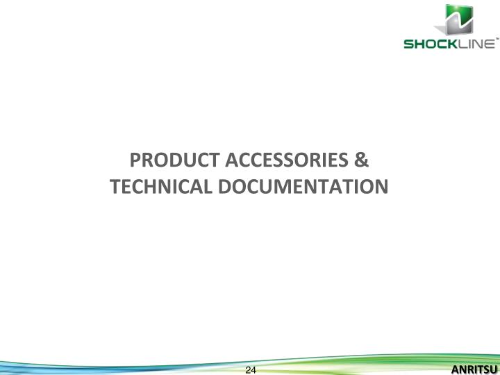 Product Accessories &
