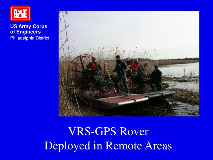 VRS-GPS Rover