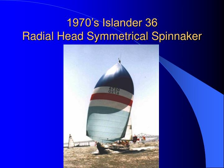 1970's Islander 36