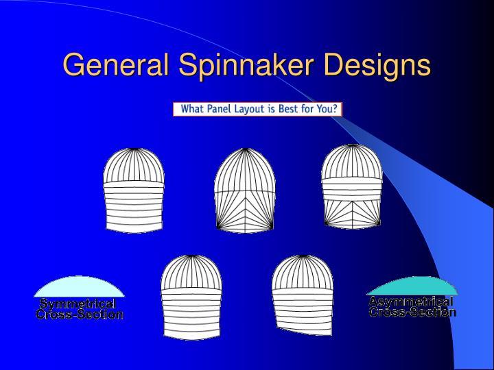 General Spinnaker Designs