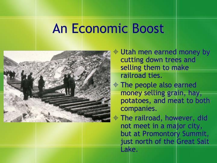 An Economic Boost
