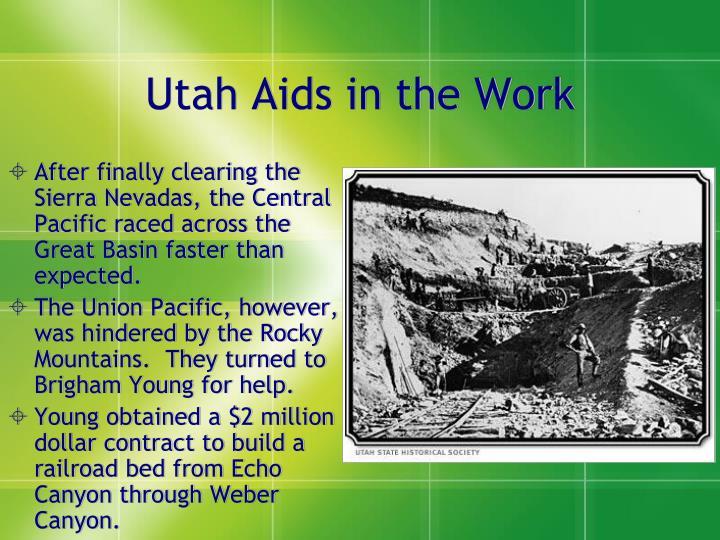 Utah Aids in the Work
