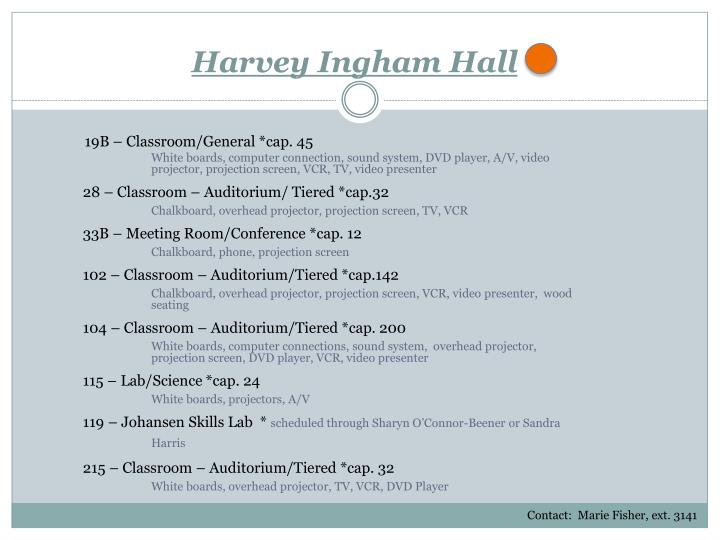 Harvey Ingham Hall