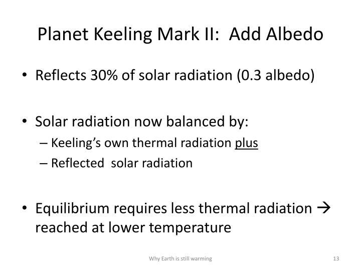 Planet Keeling Mark II:  Add Albedo
