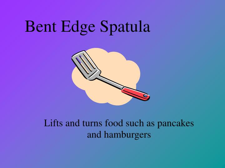 Bent Edge Spatula