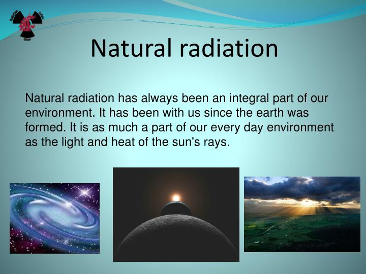 Natural radiation
