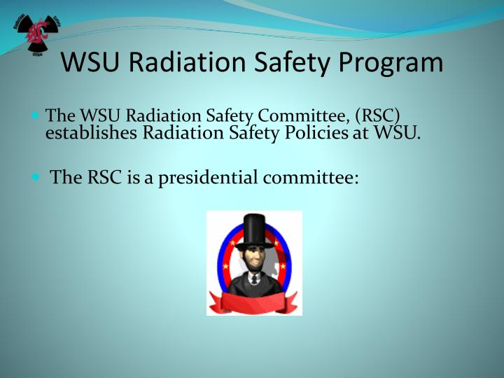 WSU Radiation Safety Program